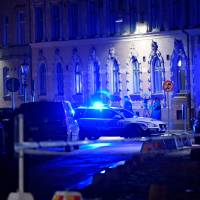 Swedish leader slams attempted arson attack at synagogue as three are arrested