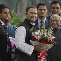 Rahul Gandhi poised to lead opposition Congress party