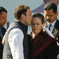 Rahul Gandhi takes over from mother as 'inevitable' heir to India's Congress dynasty