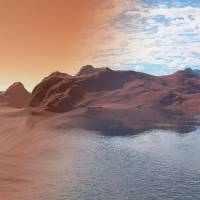 Much of Mars' missing water may be locked up in stone