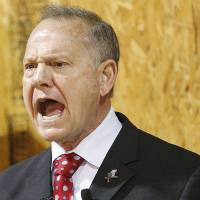Embattled Alabama GOP Senate candidate Roy Moore leads in CBS poll as voters call sex abuse claims false
