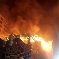 Huge fire at Mumbai restaurant kills at least 14