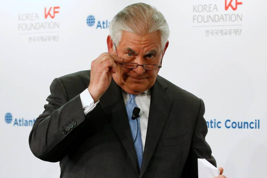 In move that could alienate Japan, Tillerson says U.S. willing to talk to North Korea 'without preconditions'