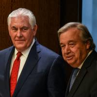 Rex Tillerson urges long halt to North Korean weapons tests before any talks