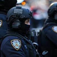 Big Apple's finest pull out all stops to thwart New Year's Eve suicide bombers