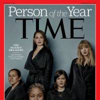 Victims of sexual misconduct named Time magazine's Person of the Year