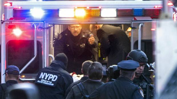 Times Square subway bomber claims ties to Islamic State but officials say he's solo player