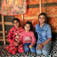 Traumatized Yazidi sisters reunite three years after being captured, sold and enslaved by Islamic State