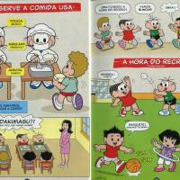 Brazilian cartoonist's manga helps his young compatriots adjust to school life in Japan