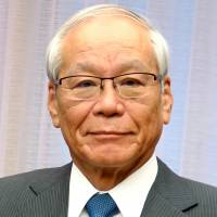 Yoshitake Yokokura, president of the Japan Medical Association, is campaigning for universal health coverage as president of the World Medical Association. | KYODO