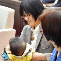 Kumamoto assembly debate helps highlight challenges of mothers in politics