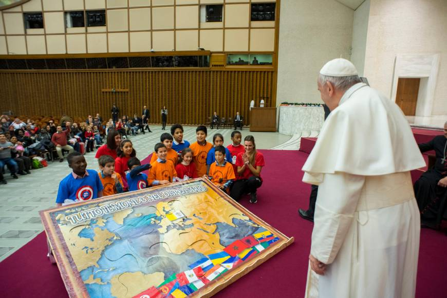 Pope warns Japan over 'excessive' competitiveness and consumption