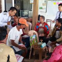 Villagers in Laos receive training on the legal concepts of forest ownership. | JAPAN INTERNATIONAL VOLUNTEER CENTER