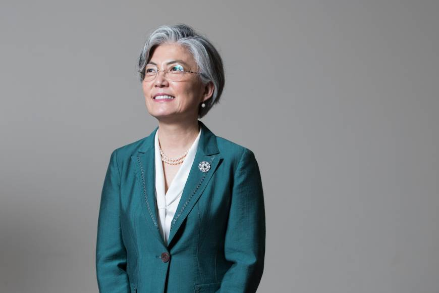 South Korean Foreign Minister Kang Kyung-wha to visit Japan for talks with counterpart Taro Kono on Tuesday