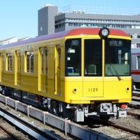 Good as gold: The Ginza Line is 14.3 kilometers long. | COURTESY OF TOKYO METRO