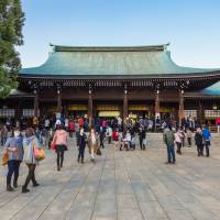 Sacred spot: The government deified Emperor Meiji in a shrine in Tokyo that now bears his name. | ISTOCK