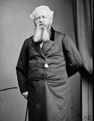Townsend Harris, the first U.S. envoy to Japan (circa 1856).
