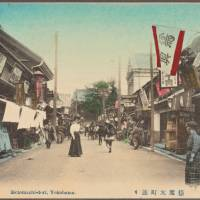 Motomachi-dori in Yokohama (circa 1911). | THE NEW YORK PUBLIC LIBRARY