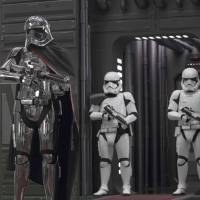 Heavy metal: Gwendoline Christie returns as the chrome-outfitted baddie Captain Phasma in 'Star Wars: The Last Jedi.' | © 2017 LUCASFILM LTD. ALL RIGHTS RESERVED.