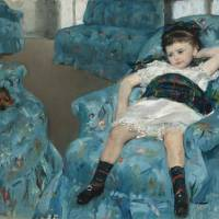 'Little Girl in a Blue Armchair' (1878) by Mary Cassatt | TIONAL GALLERY OF ART, WASHINGTON, COLLECTION OF MR. AND MRS. PAUL MELLON, 1983.1.18, COURTESY NATIONAL GALLERY OF ART, WASHINGTON
