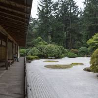 The flat garden at the Portland Japanese Garden in Oregon. | CHRISTINA SJOGREN