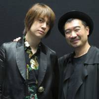 Cross-cultural collaboration: Actor Kenji Urai (left) and director Yang Jung-ung are working together on a Korean-Japanese version of Henrik Ibsen's 'Peer Gynt.' | NOBUKO TANAKA