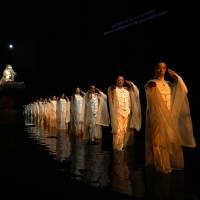French success: One of the highlights of the year in Japanese theater comes via the 71st Avignon Festival in France where Satoshi Miyagi staged 'Antigone' as the opening program. | RYOTA ATARASHI