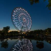 The Ferris wheel at Tokyo's Kasai Rinkai Park will be operating all night on Dec. 31 and into the early morning of Jan. 1. | COURTESY OF SENYO KOGYO CO. LTD.