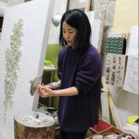 Solitary mosaic artist Takako Hirai chips away at expression