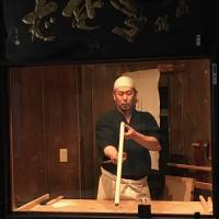 Surfer Ippei Hayashimoto draws parallels between waves and batches of his handmade noodles — no two, he says, are exactly the same. | ROBBIE SWINNERTON