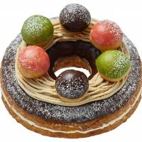 Mister Donut's Christmas Big Donut: A Christmas cake that won't break the bank
