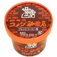 Komeda's Coffee ice cream from FamilyMart: Added sweetness makes this blend well worth a try