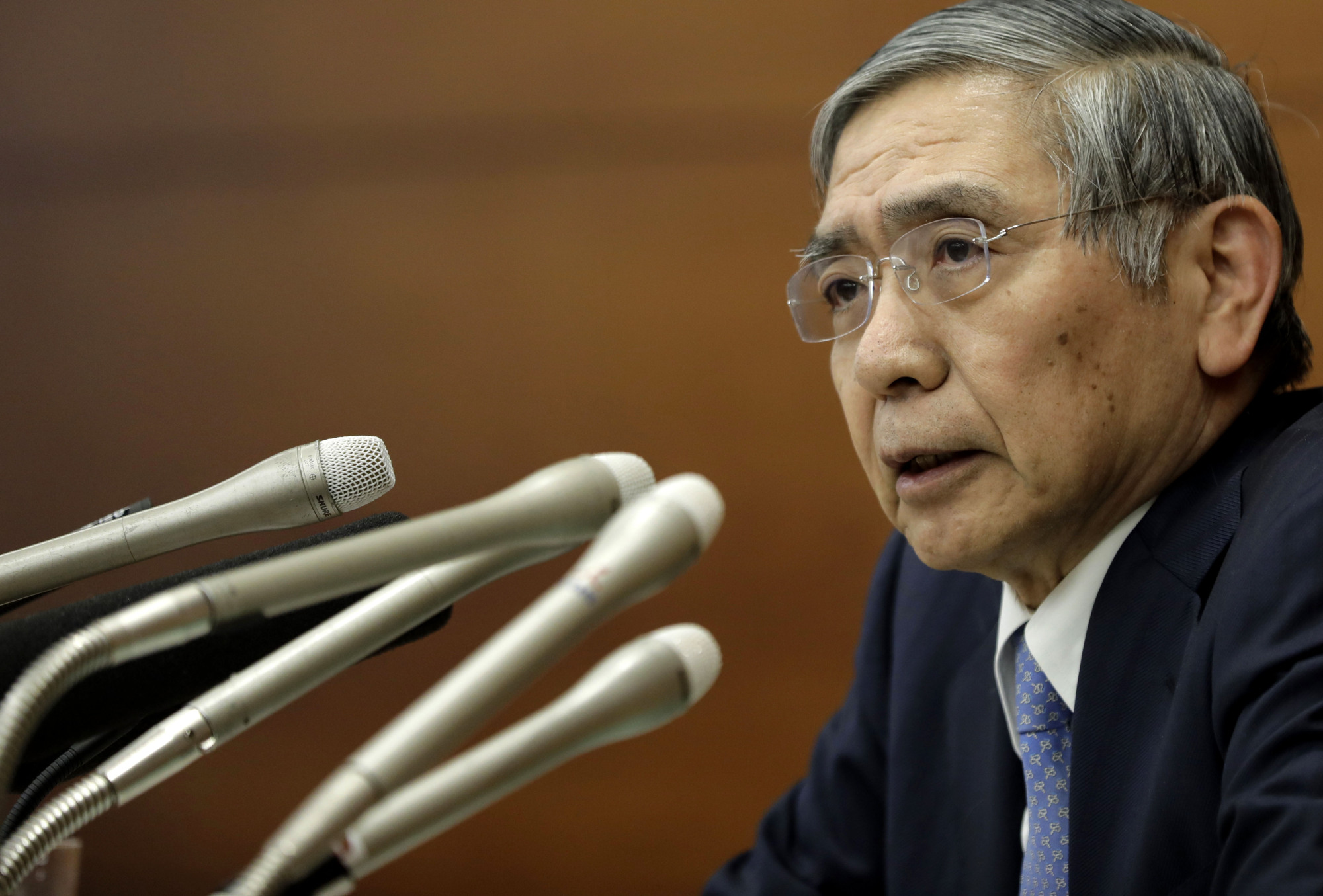 BOJ Gov. Haruhiko Kuroda will be the man to watch in 2018 if he's reappointed. | BLOOMBERG