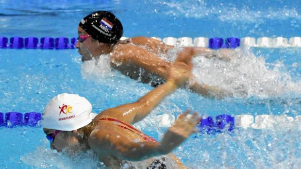 Rikako Ikee establishes another national record at Swim Cup Lausanne