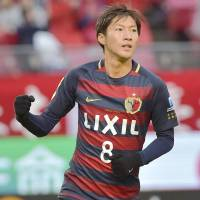Kashima Antlers midfielder Shoma Doi has joined the Japan national team for its upcoming E-1 Football Championship games. | KYODO