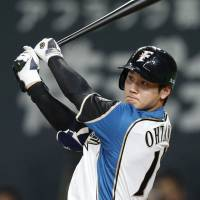 Before joining the Los Angeles Angels this month, Shohei Ohtani captured the attention of the baseball world with his arm and his bat during his five seasons with the Hokkaido Nippon Ham Fighters. | KYODO