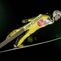 Ski jumper Junshiro Kobayashi places second in qualifying for World Cup event