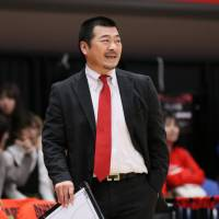 Evessa coach Dai Oketani brings passion to the game