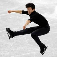 Nathan Chen executes two quadruple jumps to build lead over Shoma Uno at Grand Prix Final