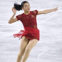 Kaori Sakamoto's ability has been underestimated by many observers. The Kobe native claimed the silver medal at the national championships on Saturday and will represent Japan at the Pyeongchang Olympics. | KYODO