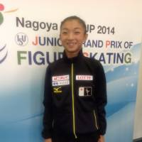 Kaori Sakamoto, seen here at the Nagoya Junior Grand Prix in September 2014 at the age of 14, exhibited her skills and fortitude early on. | JACK GALLAGHER