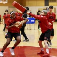 Japan women's national basketball teams stage training camp to develop uniformity among various squads