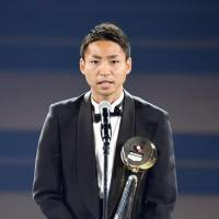 Kawasaki Frontale's Yu Kobayashi named J. League MVP