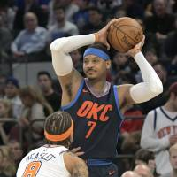 Knicks spoil Carmelo Anthony's return to Madison Square Gardens