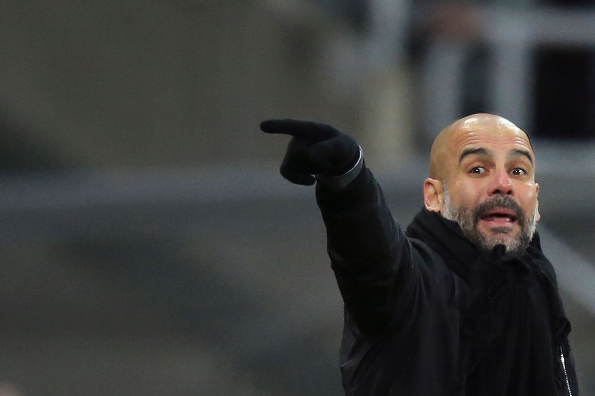 Manchester City manager Pep Guardiola has guided the team  to 18 straight victories in the Premier League. | AFP-JIJI