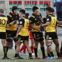 Suntory clinches first place in Top League's Red Conference