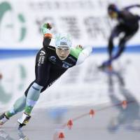 Miho Takagi takes second in women's 1,000 meters at Olympic qualifying event in Nagano