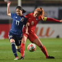 Japan's Mana Iwabuchi delivers winning goal in 83rd minute against South Korea