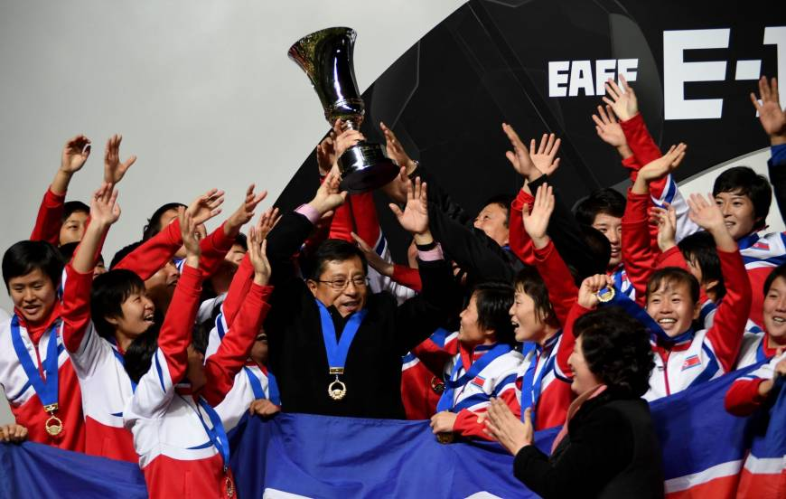 North Korea women prevail over Japan in E-1 Football Championship final