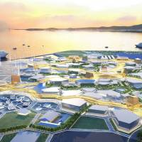 The layout of pavilions and site configuration highlights the diversity and uniqueness of the World Expo 2025 Osaka, Kansai, venue concept.   MINISTRY OF ECONOMY, TRADE AND INDUSTRY